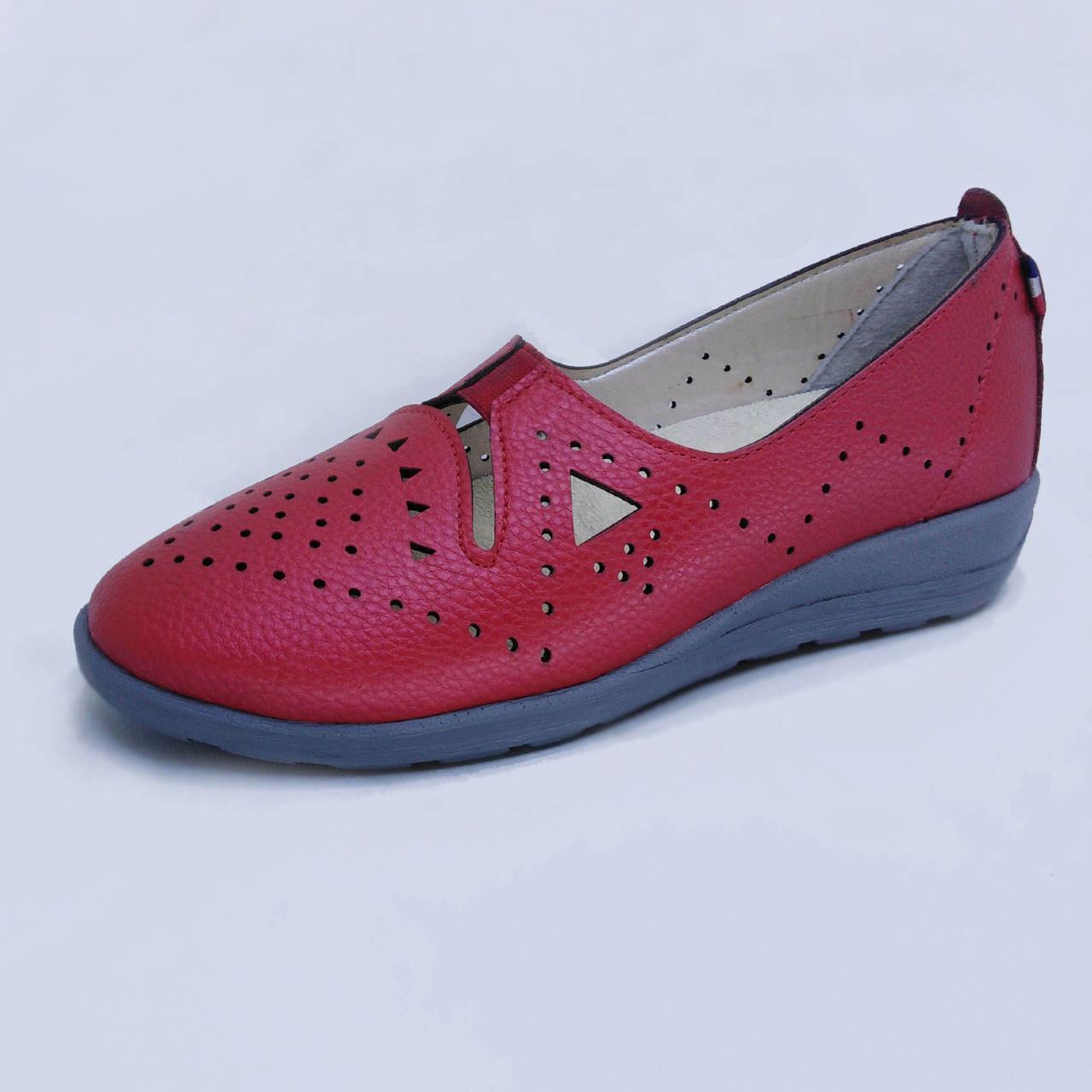 کفش روزمره زنانه مدل بیتا کد L1- 98 رنگ قرمز -  - 2