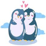 استیکر مستر راد طرح پنگوئن های رویایی مدل  HSE 008