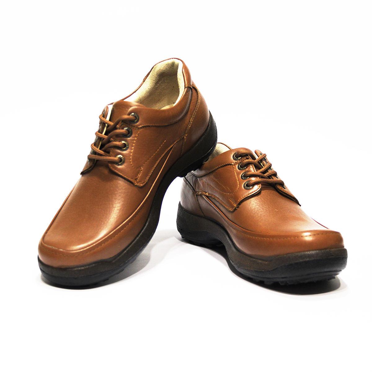کفش روزمره مردانه فرزین کد mbw003 رنگ گردویی -  - 1