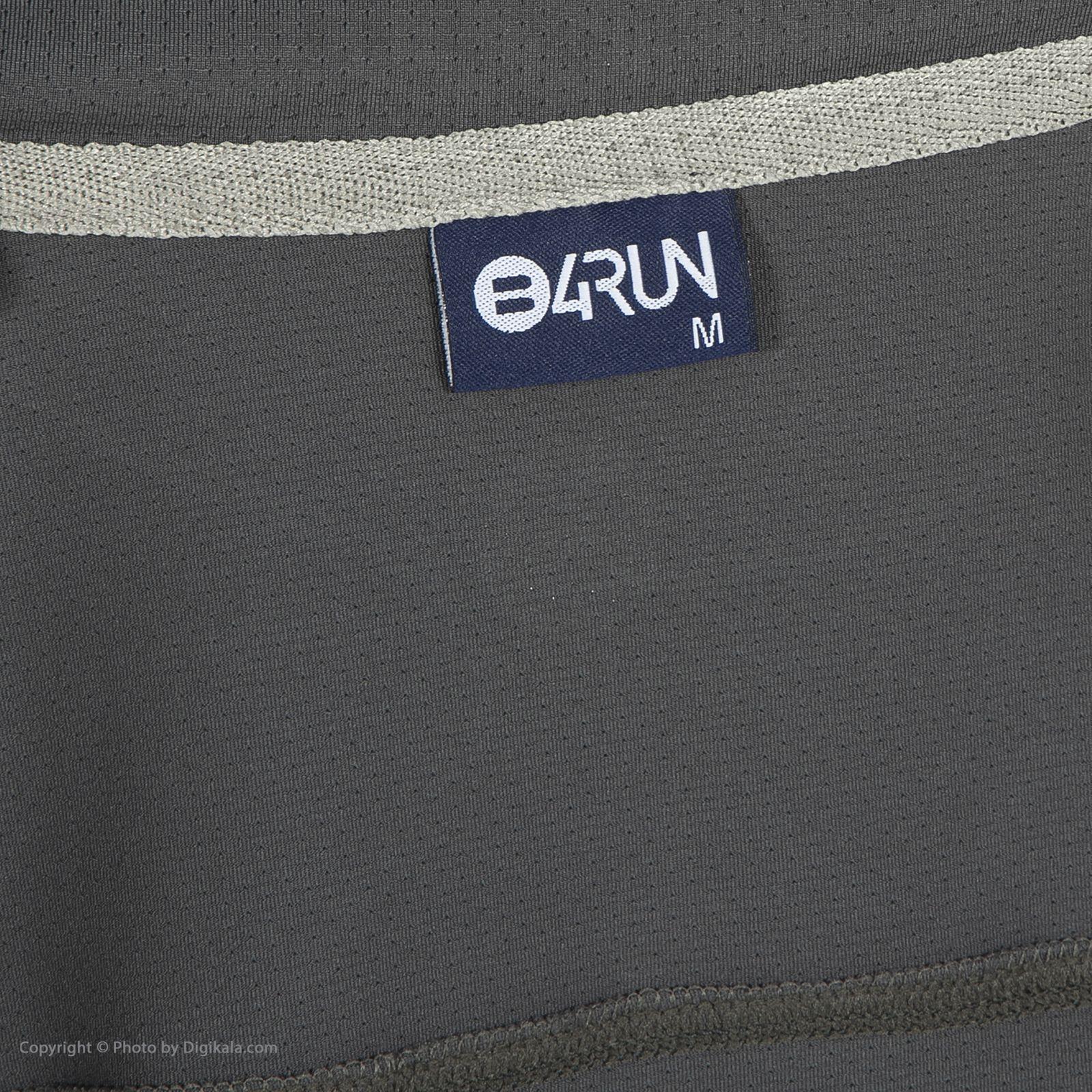 تی شرت ورزشی مردانه بی فور ران مدل 990311-94 -  - 5