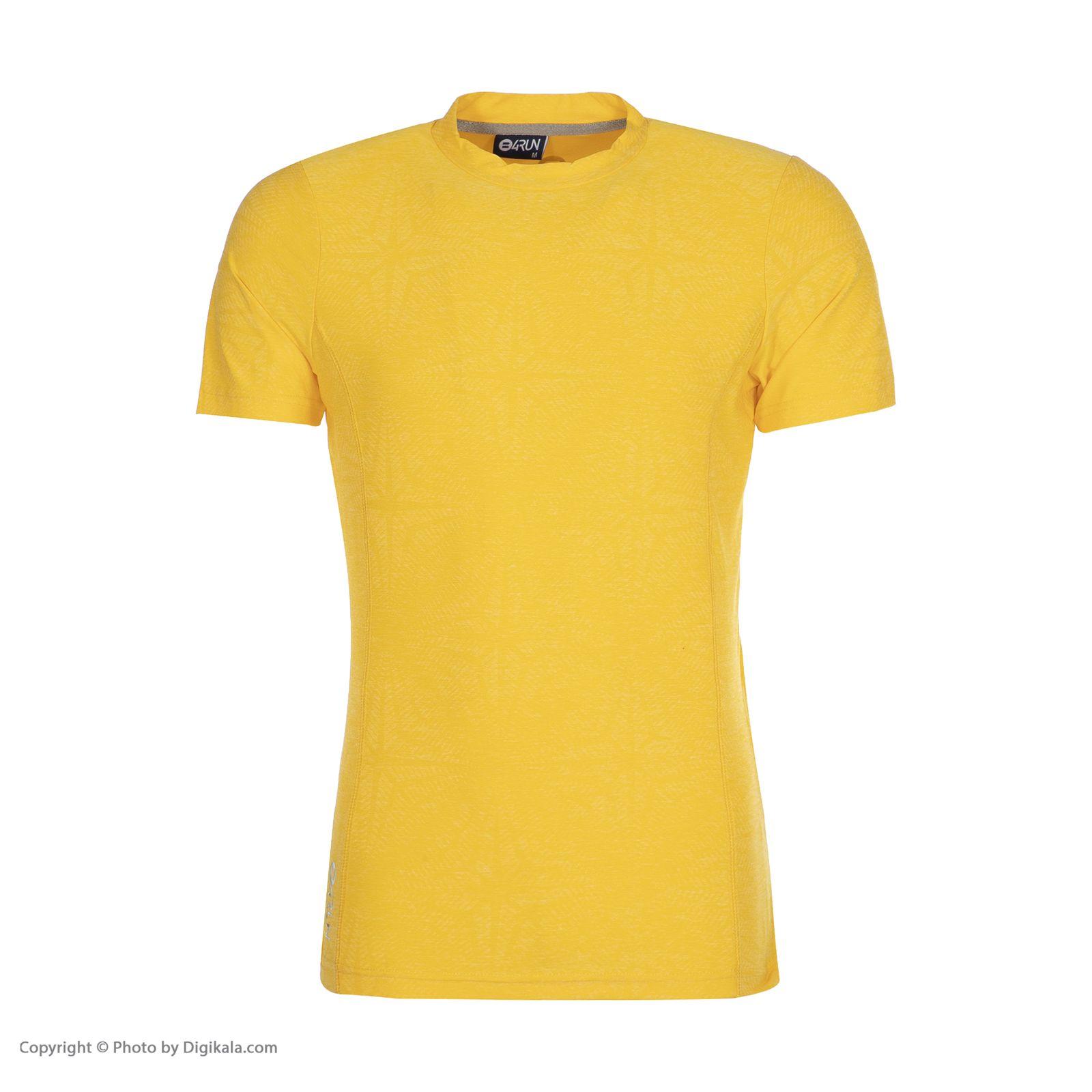 تی شرت ورزشی مردانه بی فور ران مدل 990312-17 -  - 1