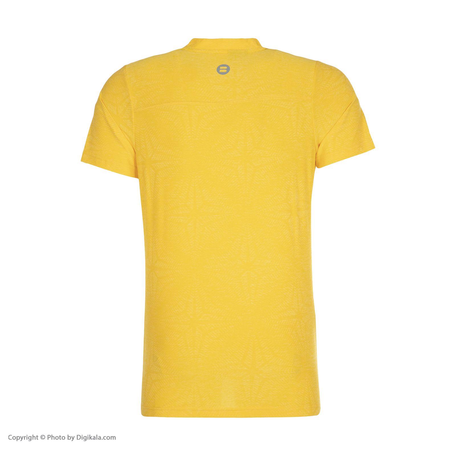 تی شرت ورزشی مردانه بی فور ران مدل 990312-17 -  - 3