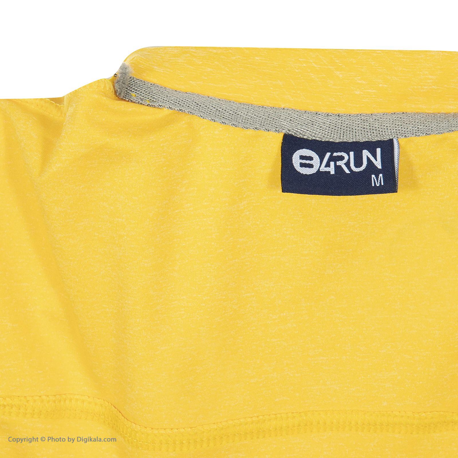 تی شرت ورزشی مردانه بی فور ران مدل 990312-17 -  - 5