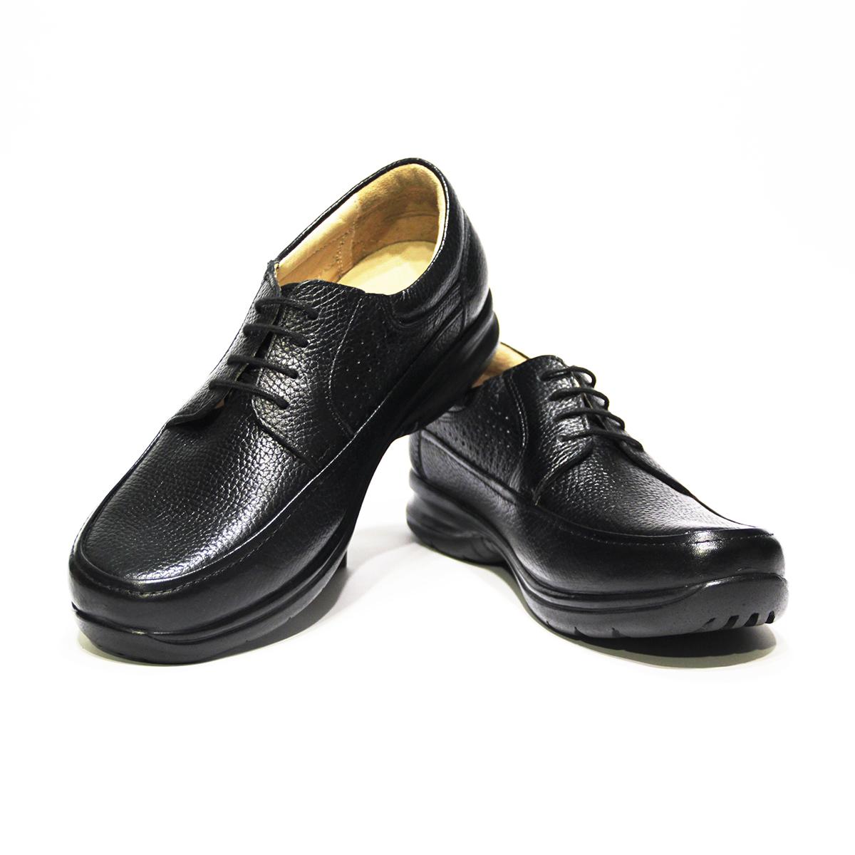 کفش روزمرهمردانه  فرزین کد gbm007 رنگ مشکی -  - 2