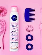 اسپری شامپو خشک نیوآ سری Fresh Revive مدل موهای رنگ شده حجم 200 میلی لیتر -  - 1