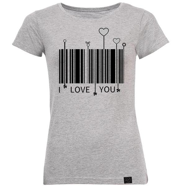 تیشرت زنانه 27 طرح بارکد کد M201