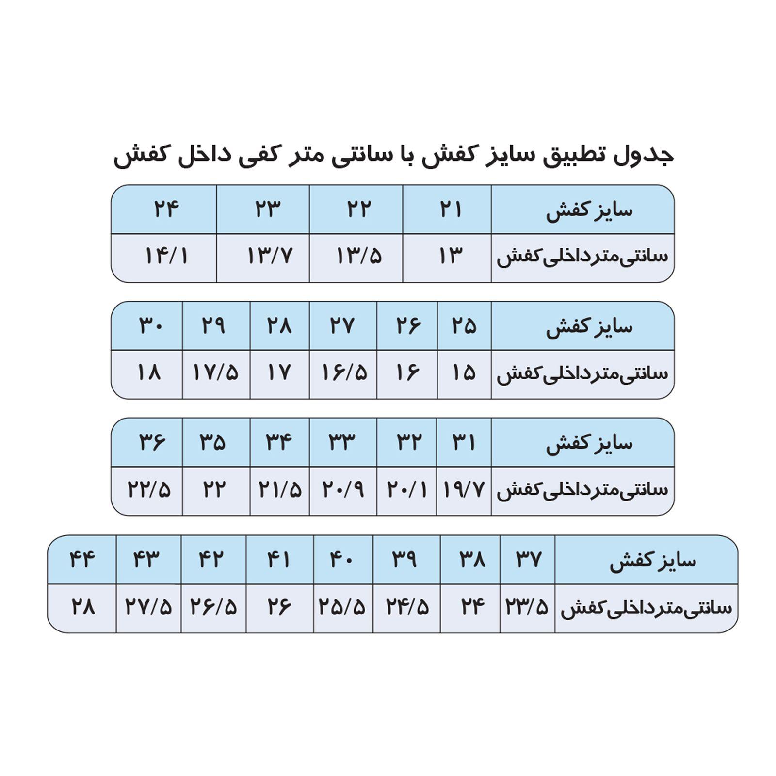صندل مردانه ای ال ام کد 3-59737 -  - 5