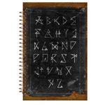 دفتر لغت مشایخ مدل متالیک کد 9004