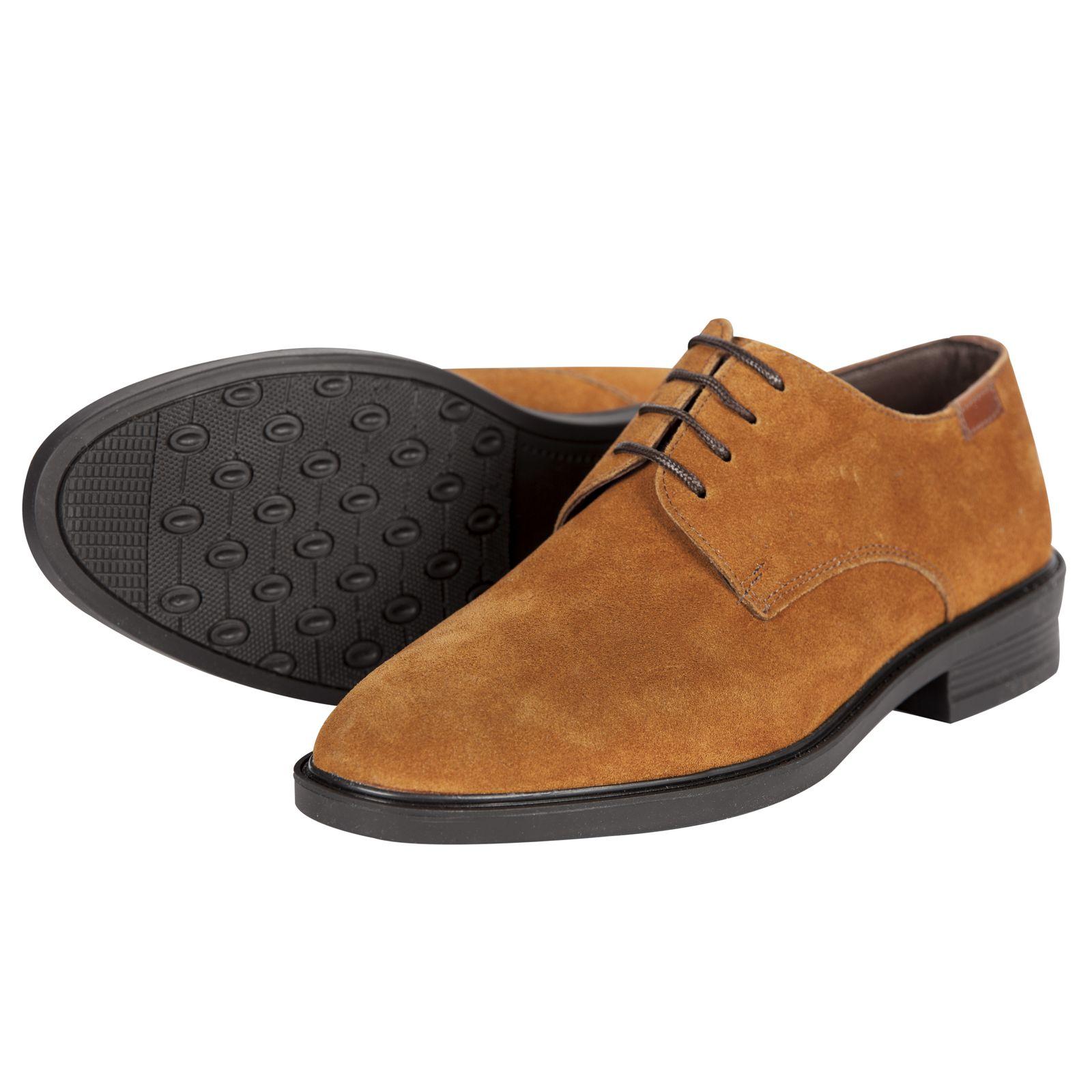 کفش مردانه فری مود کد 1811 رنگ عسلی -  - 1