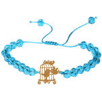 دستبند طلا 18 عیار زنانه کد NE04