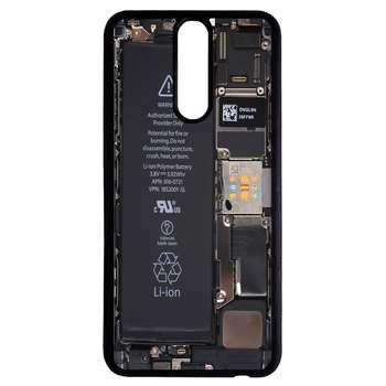 کاور طرح پشت موبایل کد 11050646 مناسب برای گوشی موبایل هوآوی mate 10 lite