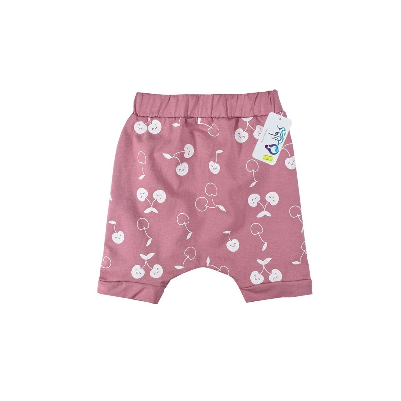 ست تی شرت و شلوارک نوزاد نیروان کد 1706 -2 -  - 3