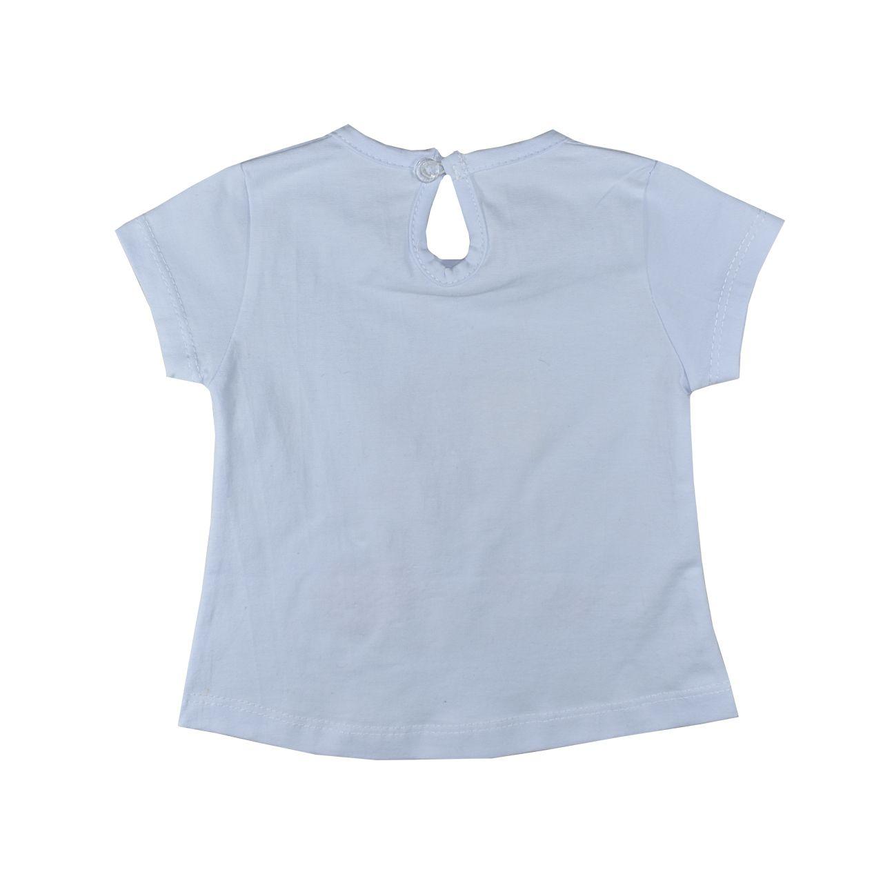 ست تی شرت و شلوارک نوزاد نیروان کد 1706 -2 -  - 5