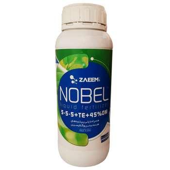 کود مایع آلی زعیم مدل نوبل حجم 1 لیتر