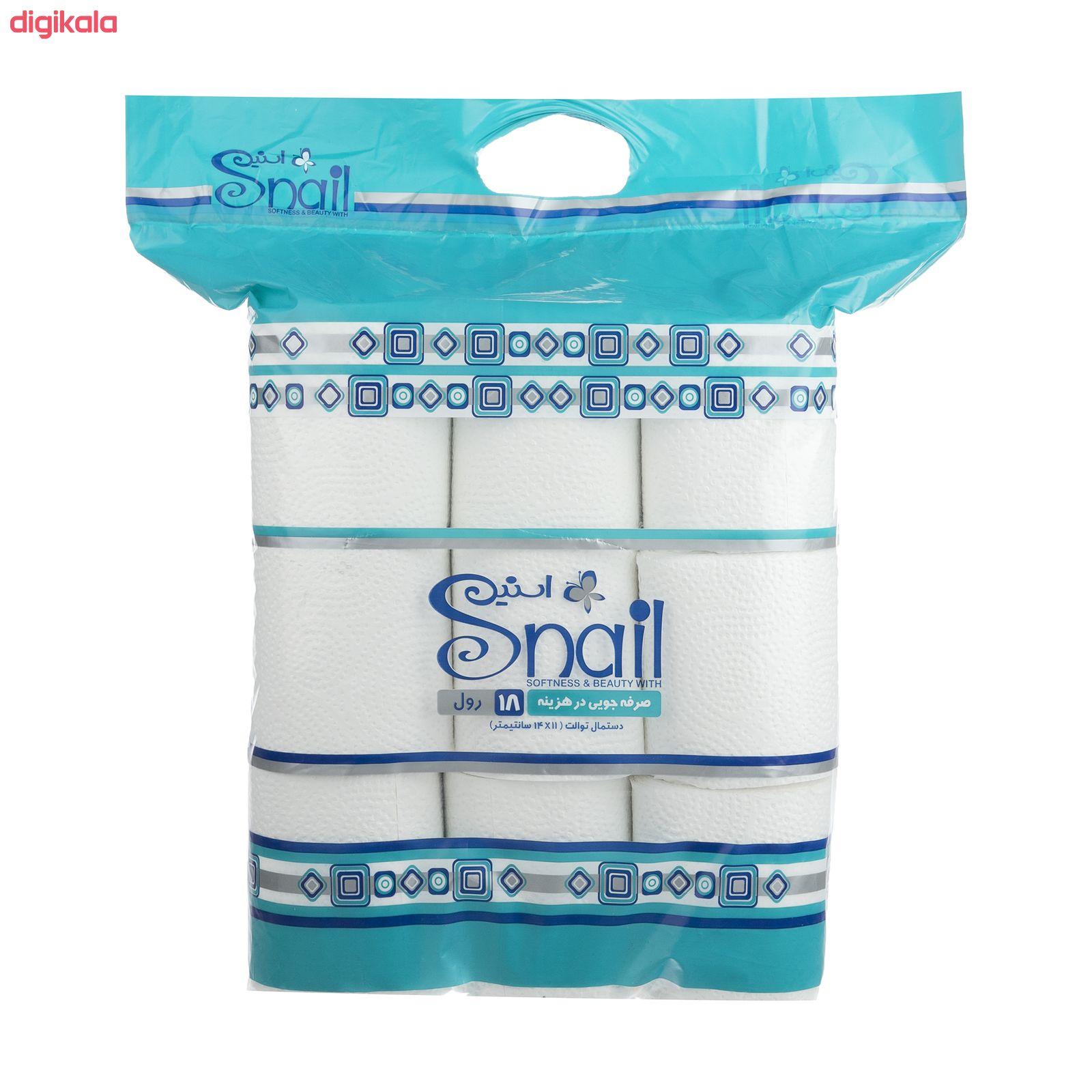 دستمال توالت اسنیل کد 01 بسته 18 عددی main 1 3
