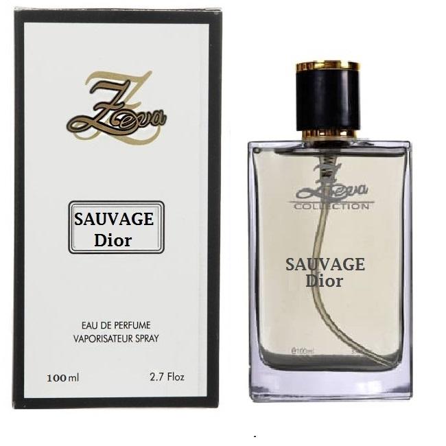 .ادو پرفیوم مردانه زوا مدل SAUVAGE Dior حجم 100 میلی لیتر