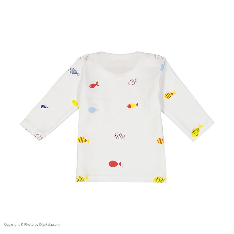 تی شرت نوزادی بی بی ناز مدل 1501240