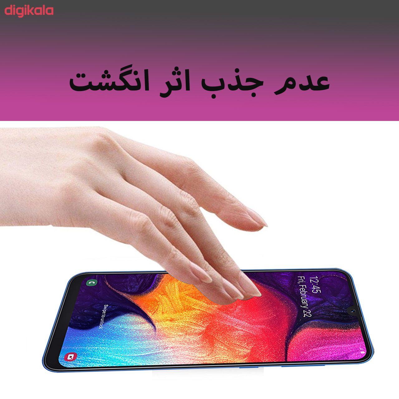 محافظ صفحه نمایش 5D لایونکس مدل USS مناسب برای گوشی موبایل سامسونگ Galaxy A50 main 1 6