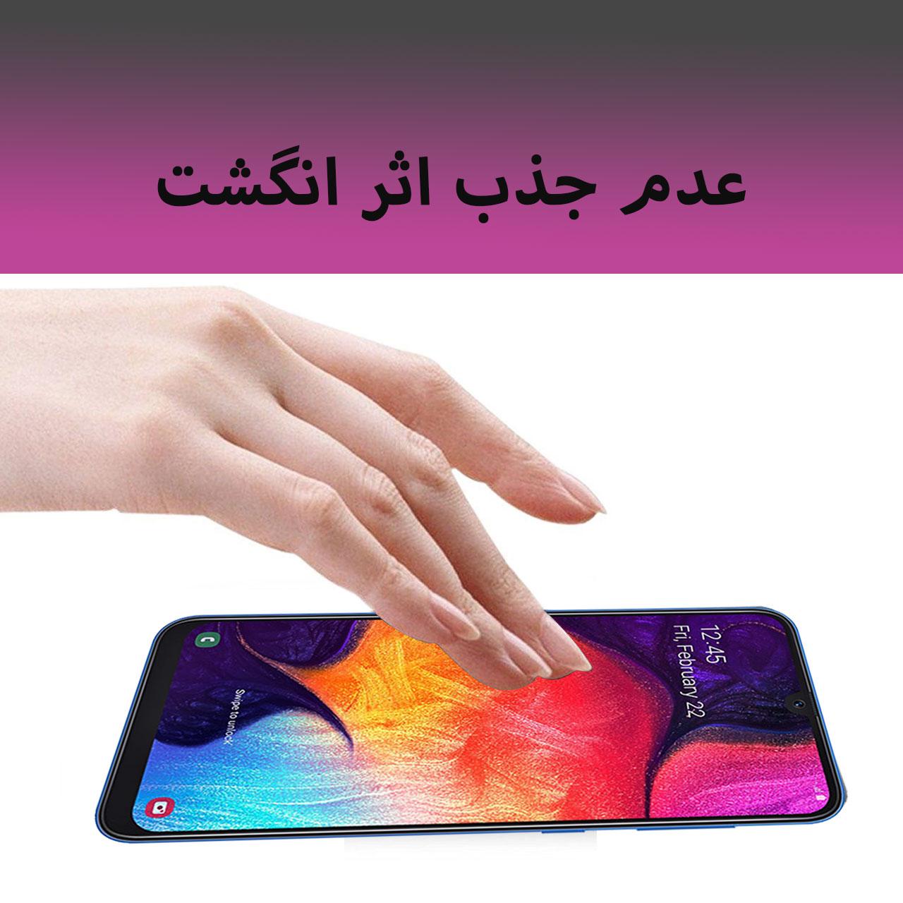 محافظ صفحه نمایش 5D لایونکس مدل USS مناسب برای گوشی موبایل سامسونگ Galaxy A50 بسته دو عددی main 1 4