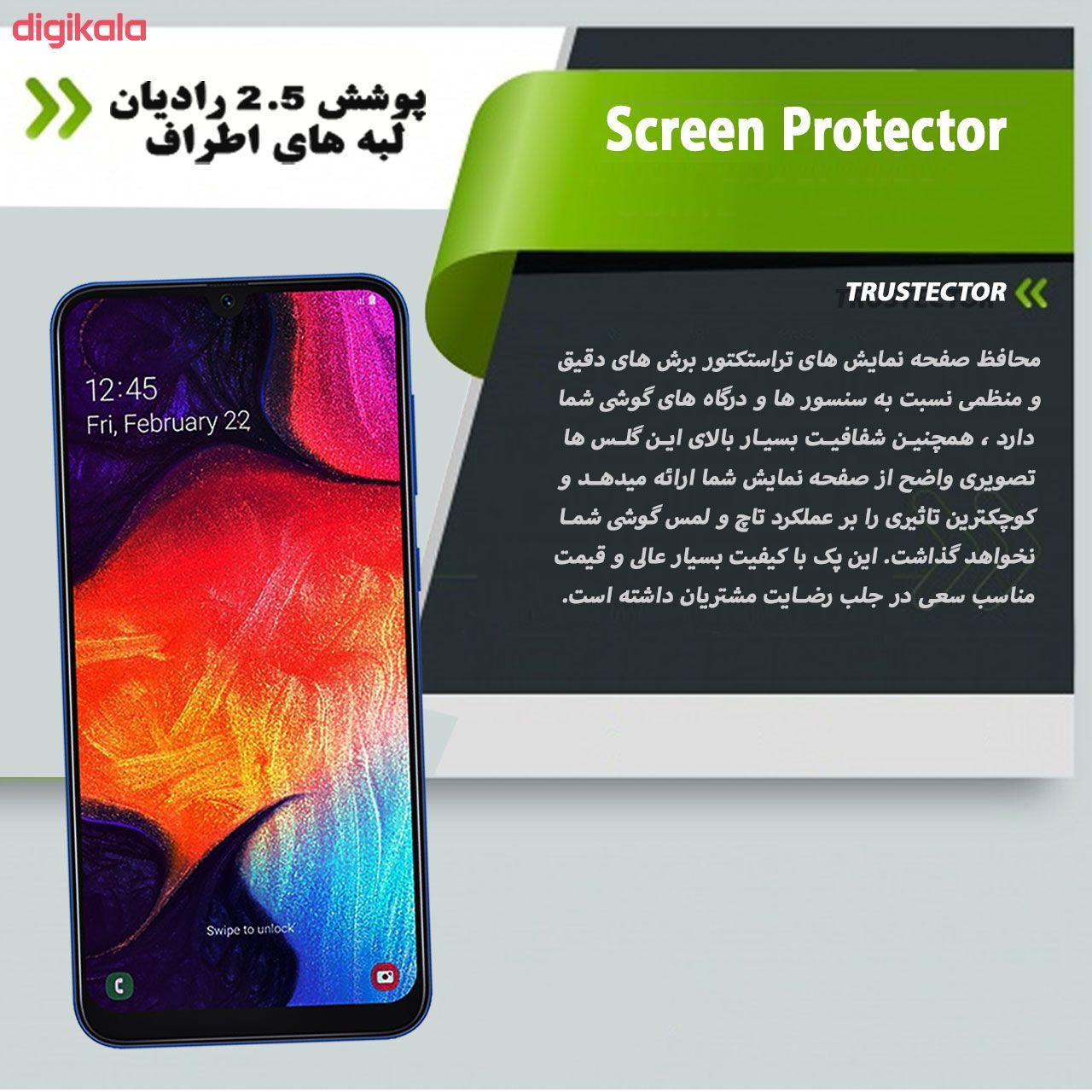 محافظ صفحه نمایش تراستکتور مدل GSS مناسب برای گوشی موبایل سامسونگ Galaxy A50 بسته 3 عددی main 1 5