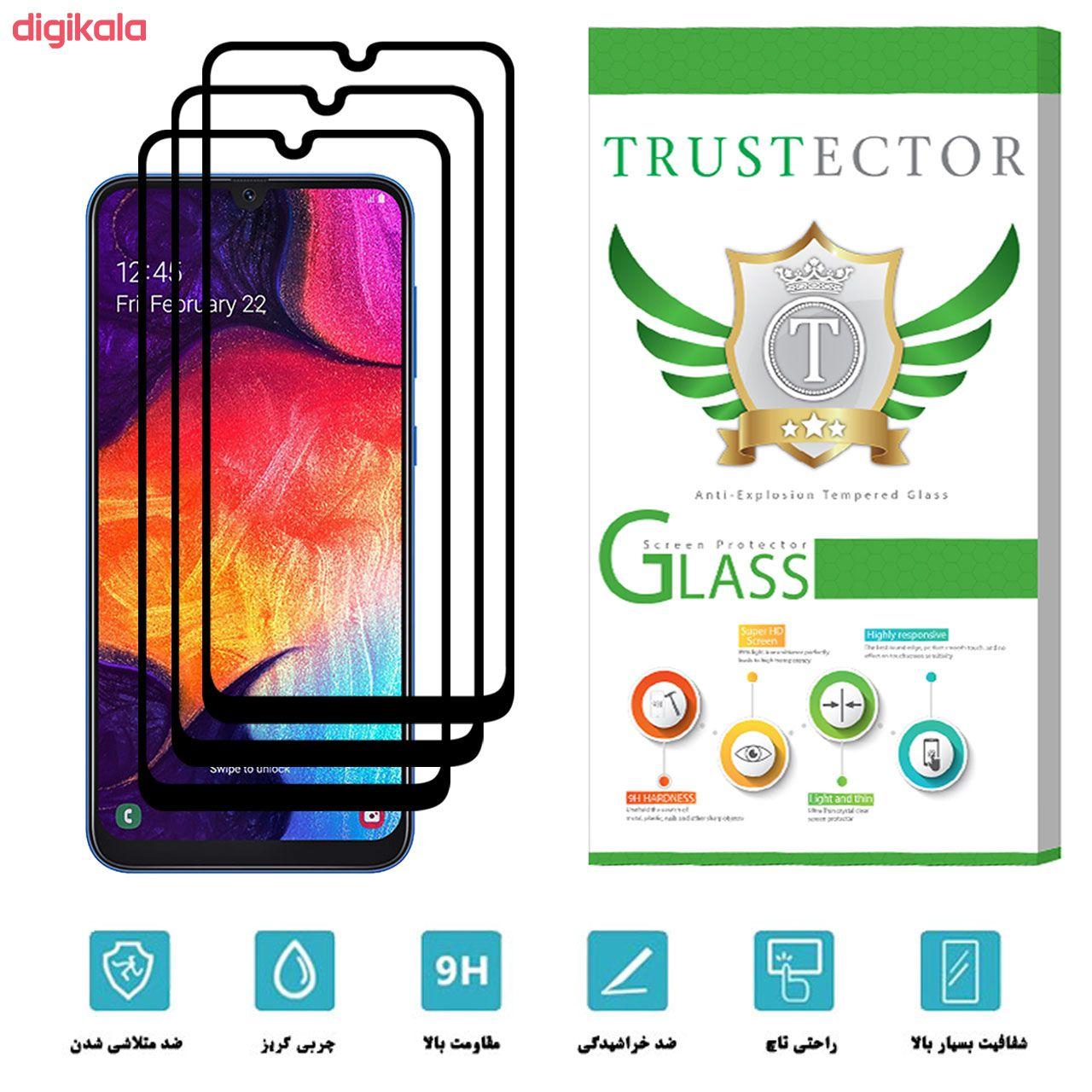 محافظ صفحه نمایش تراستکتور مدل GSS مناسب برای گوشی موبایل سامسونگ Galaxy A50 بسته 3 عددی main 1 2