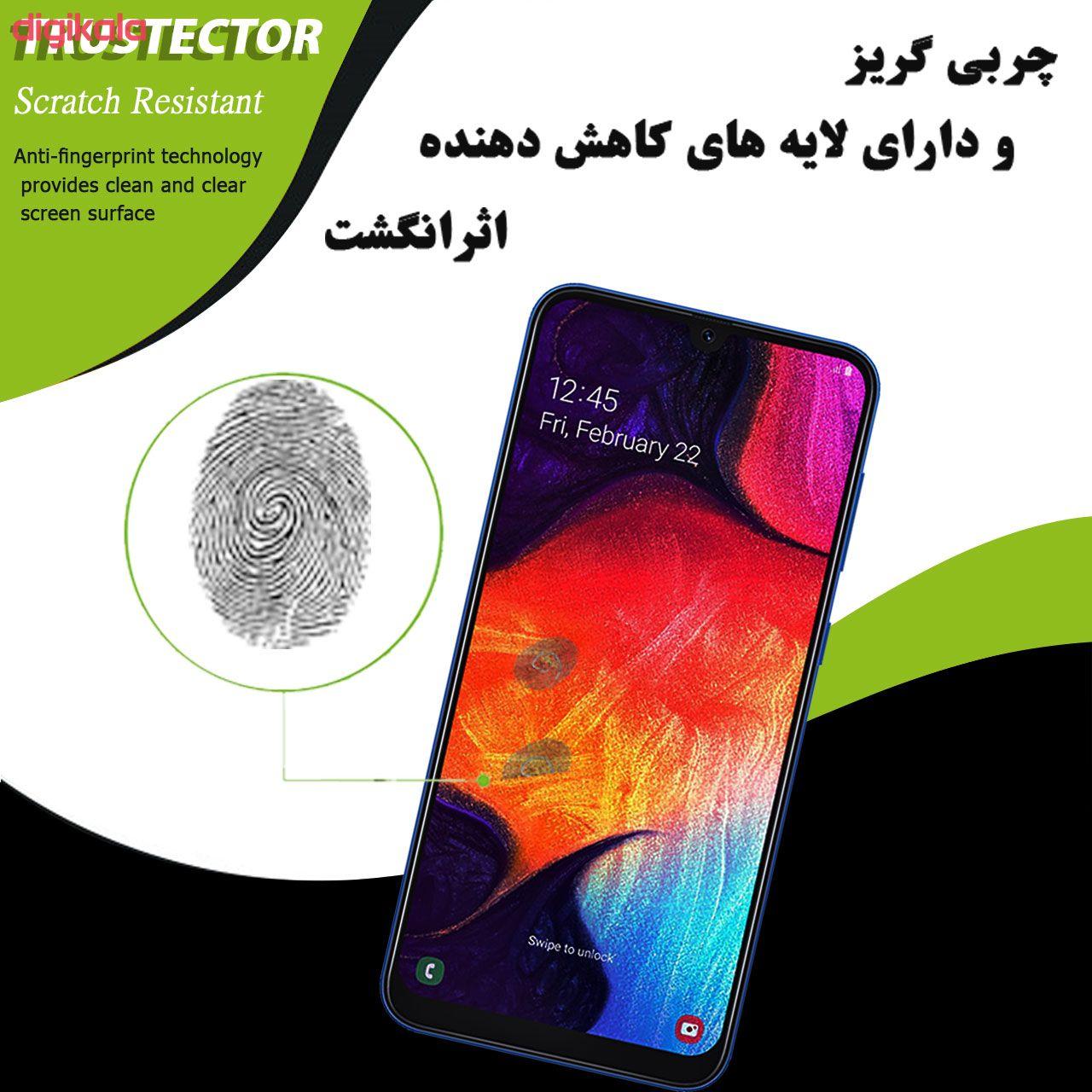 محافظ صفحه نمایش تراستکتور مدل GSS مناسب برای گوشی موبایل سامسونگ Galaxy A50 بسته 5 عددی main 1 5