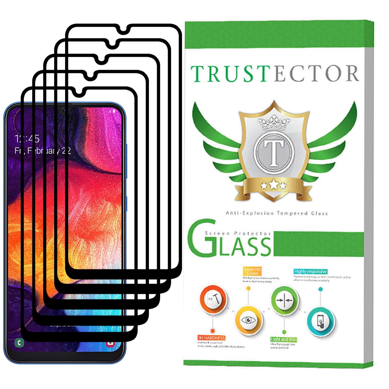 محافظ صفحه نمایش تراستکتور مدل GSS مناسب برای گوشی موبایل سامسونگ Galaxy A50 بسته 5 عددی