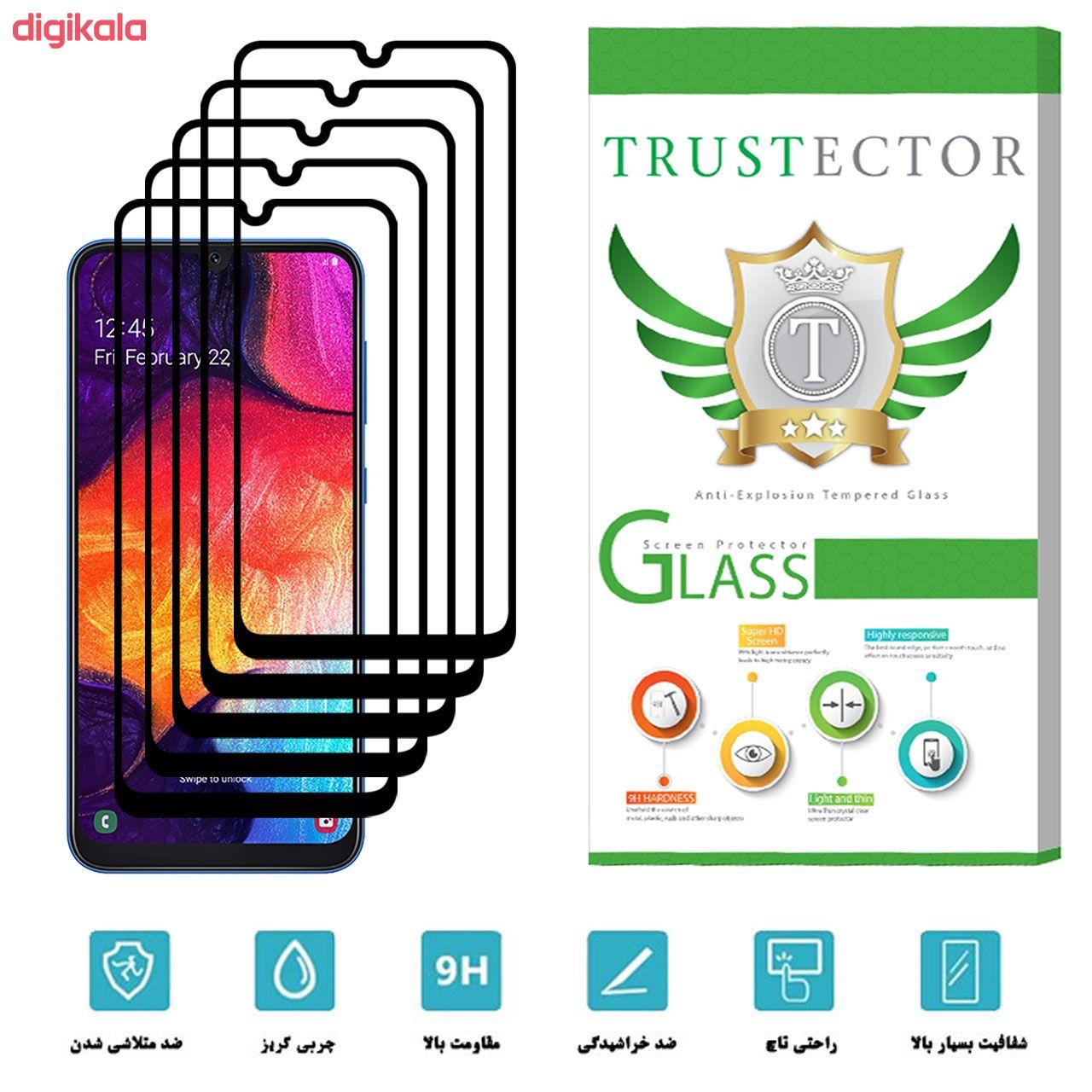 محافظ صفحه نمایش تراستکتور مدل GSS مناسب برای گوشی موبایل سامسونگ Galaxy A50 بسته 5 عددی main 1 2