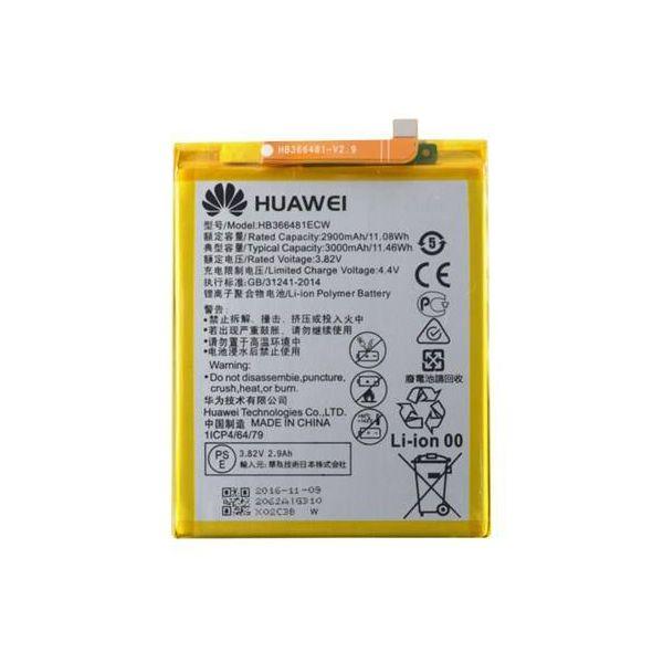 باتری موبایل مدل HB366481ECW ظرفیت 3000 میلی آمپر ساعت مناسب برای گوشی موبایل هوآوی P9/P9 Lite