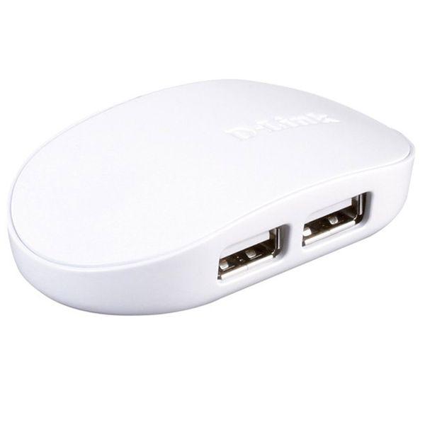 هاب 4 پورت USB 2.0 دی لینک مدل DUB-1040
