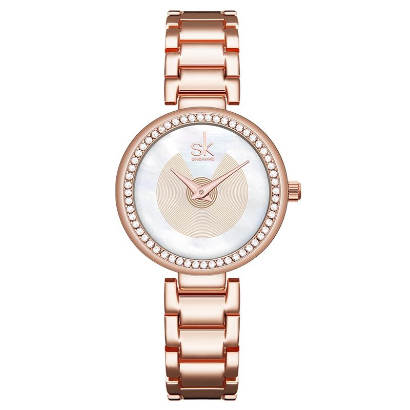 ساعت مچی عقربه ای زنانه اس کا مدل K0112L-RG              ارزان