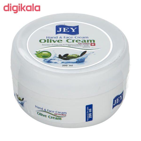 کرم ترمیم کننده جی مدل olive cream حجم 200 میلی لیتر main 1 2