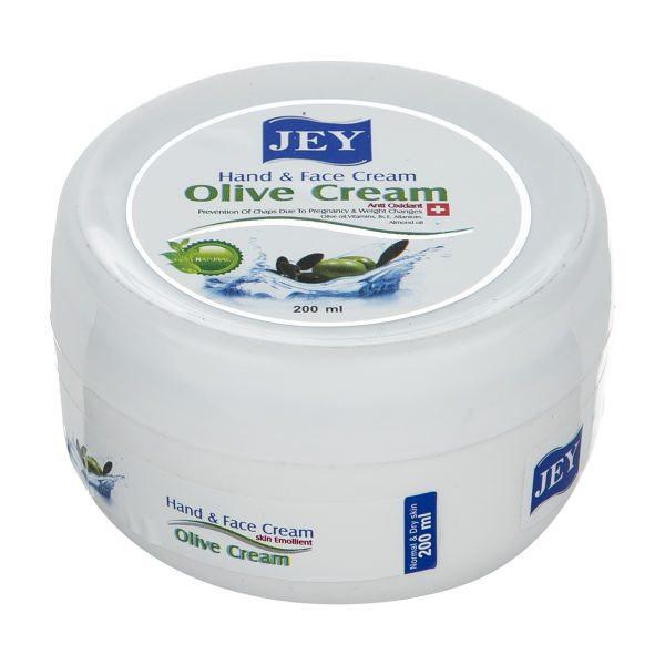 کرم ترمیم کننده جی مدل olive cream حجم 200 میلی لیتر