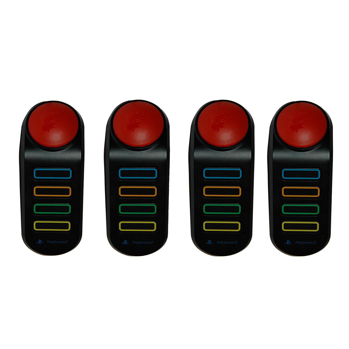 دسته بازی بی سیم پلی استیشن 3 مدل Buzz بسته 4 عددی