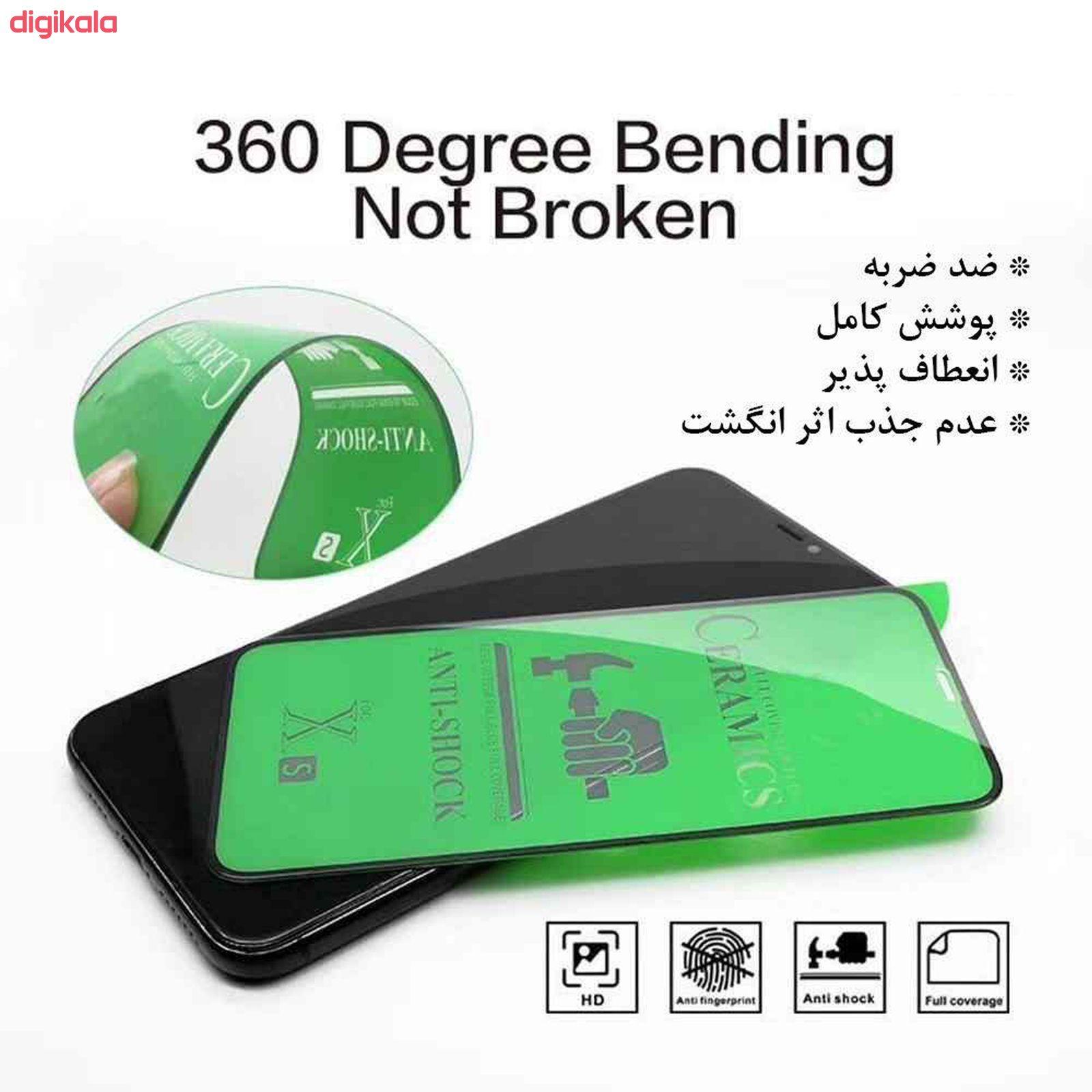 محافظ صفحه نمایش مات لاین کینگ مدل LKFCM مناسب برای گوشی موبایل سامسونگ Galaxy A50/ A30S/ A50S main 1 3