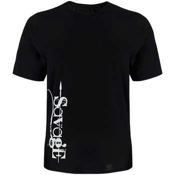 تی شرت آستین کوتاه مردانه 27 طرح savage کد TR03 رنگ مشکی