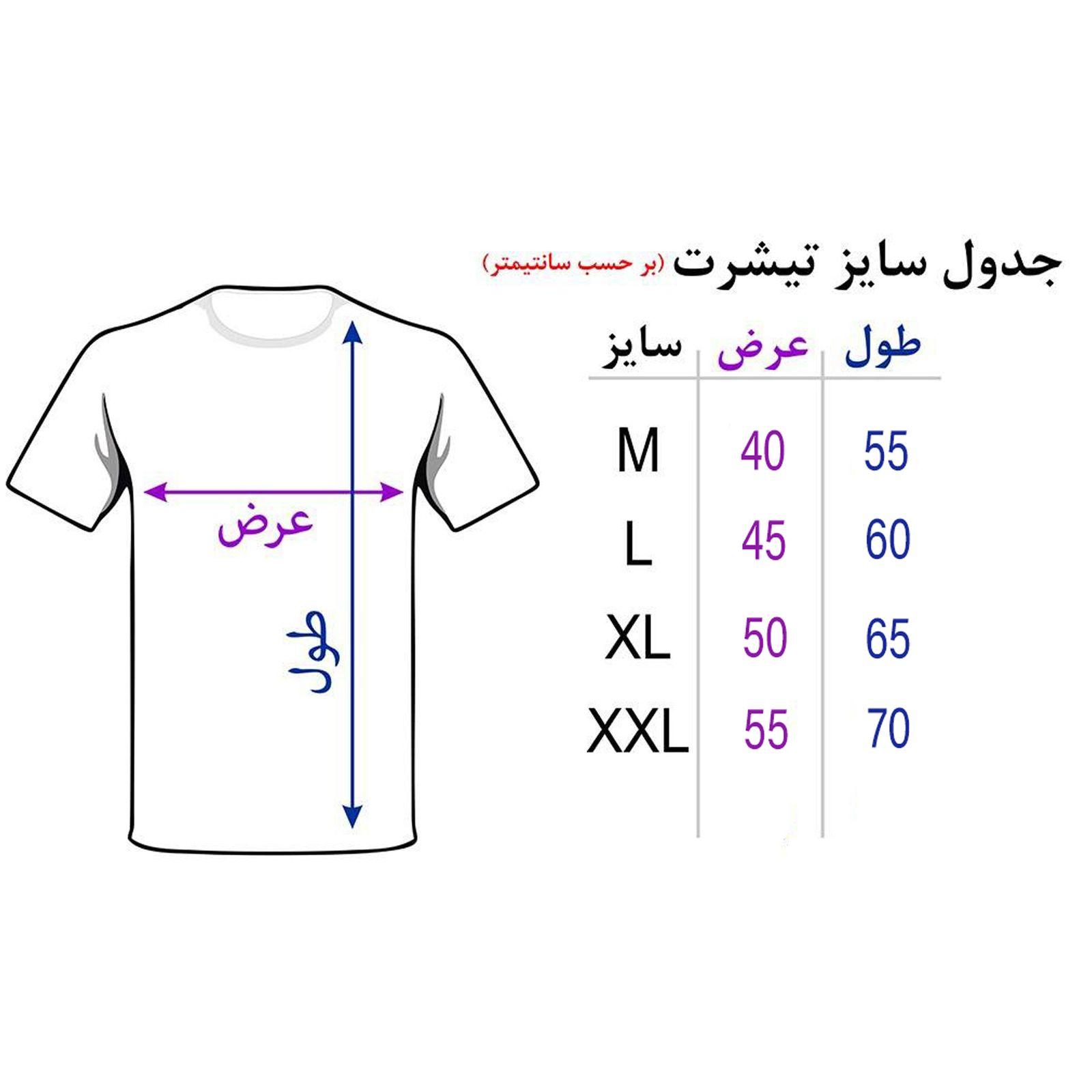 تی شرت آستین کوتاه مردانه 27 طرح عقاب کد TR05 رنگ مشکی -  - 4