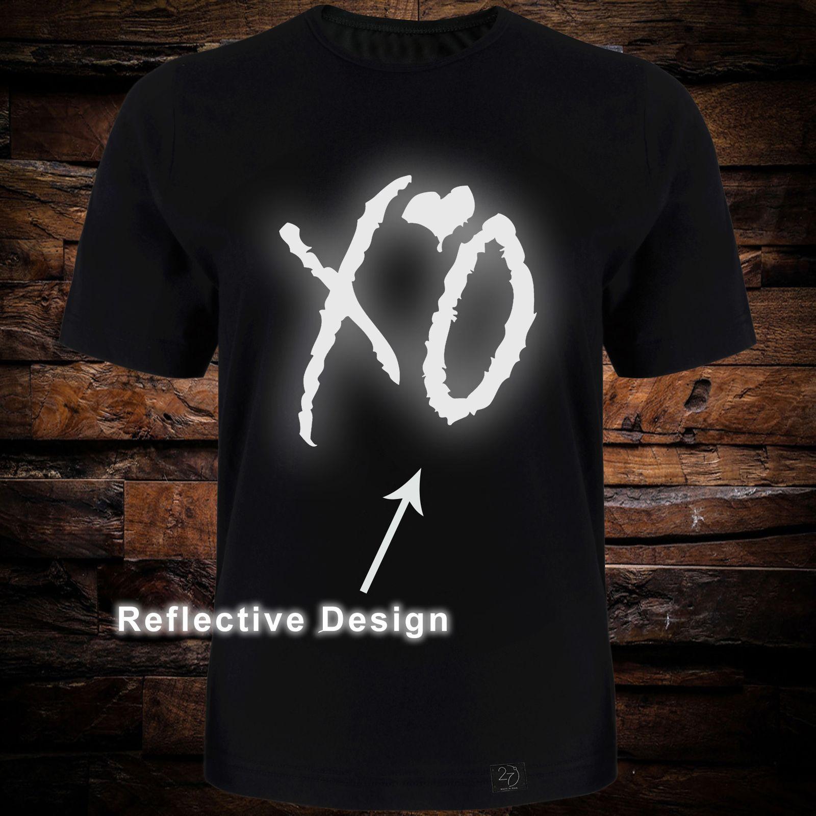تی شرت آستین کوتاه مردانه 27 طرح XO کد TR08 رنگ مشکی -  - 2