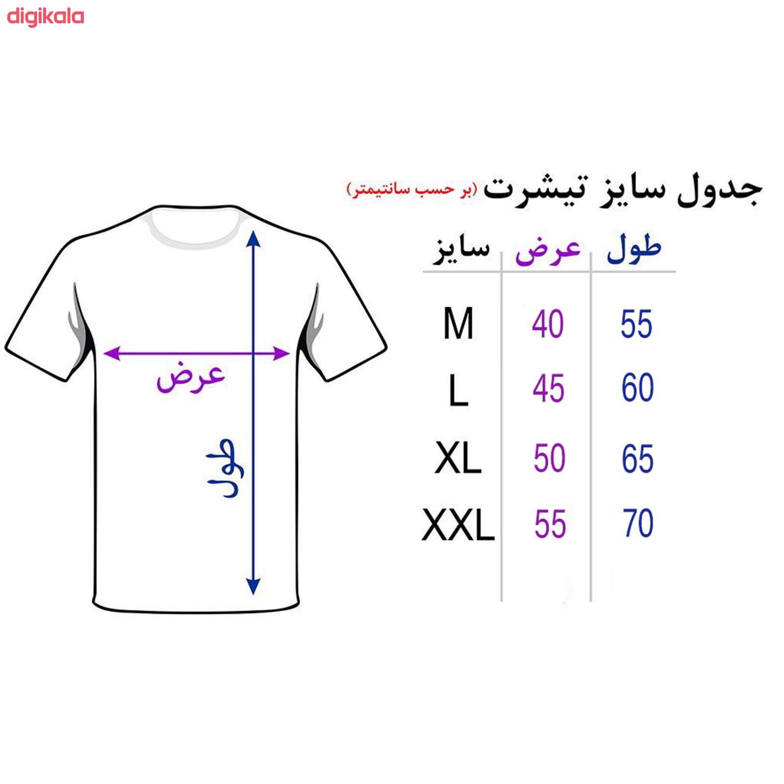 تی شرت آستین کوتاه مردانه طرح Broke کد TR10 رنگ مشکی main 1 4