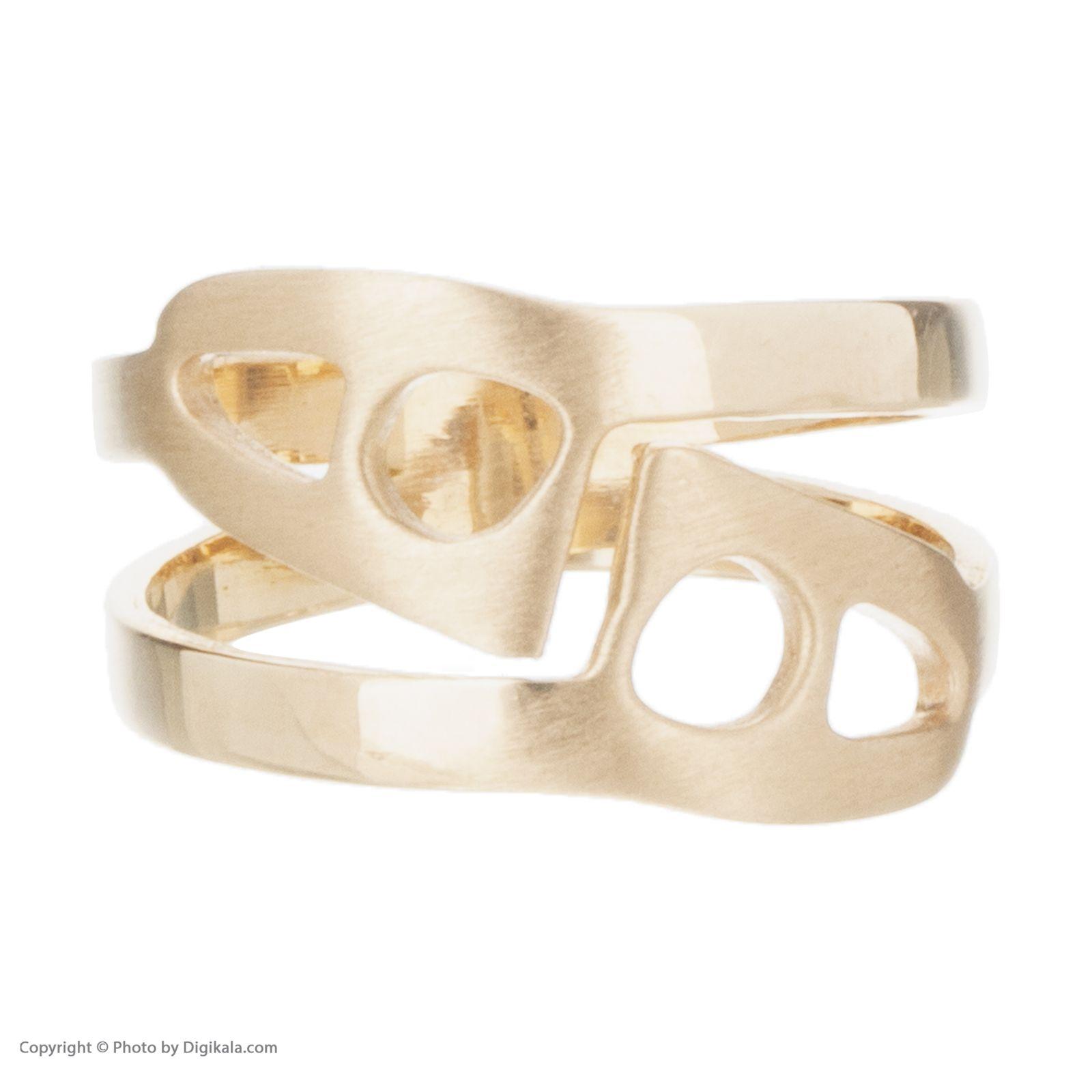 انگشتر طلا 18 عیار زنانه آلند کد H1022 -  - 1