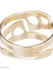 انگشتر طلا 18 عیار زنانه آلند کد H1022 -  - 4
