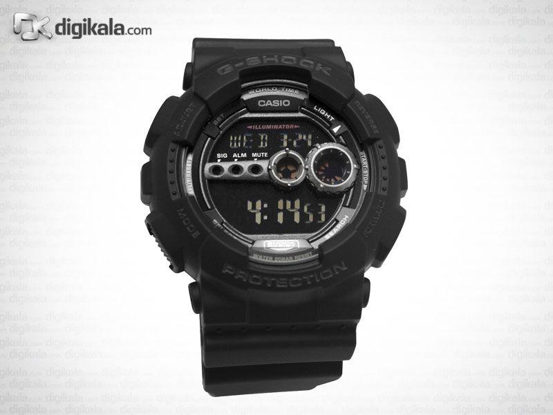 ساعت مچی دیجیتالی مردانه کاسیو جی شاک GD-100-1BDR -  - 3