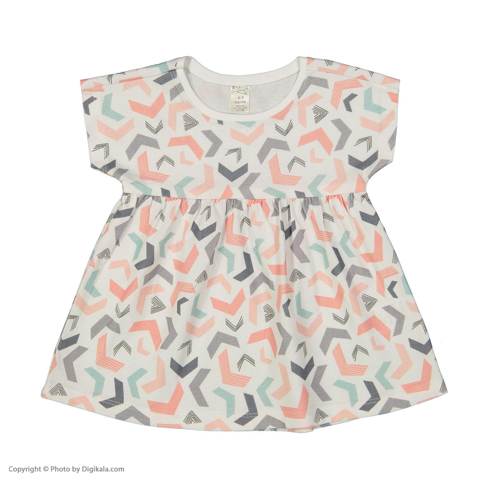 پیراهن دخترانه رابو مدل 2051129-01 -  - 1
