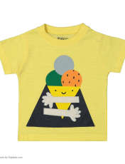 ست تی شرت و شلوار دخترانه رابو مدل 2051122-11 -  - 2