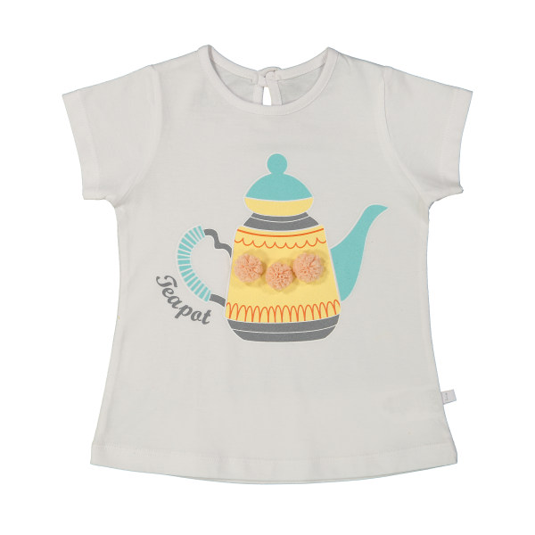 تی شرت دخترانه جیبیجو مدل 2081112-01