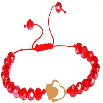 دستبند طلا 18 عیار زنانه کد NE06