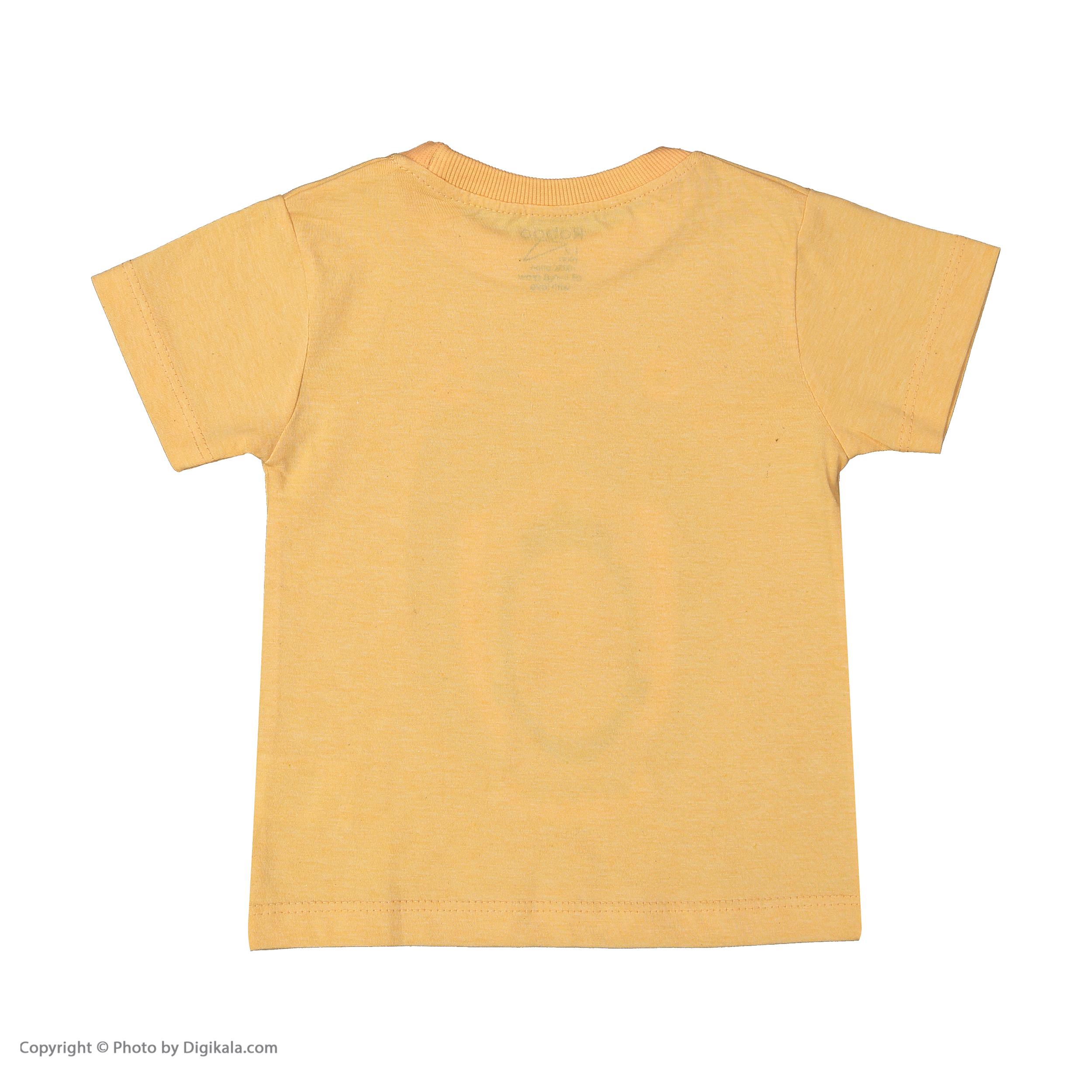 ست تی شرت و شلوار دخترانه رابو مدل 2051125-23 -  - 3