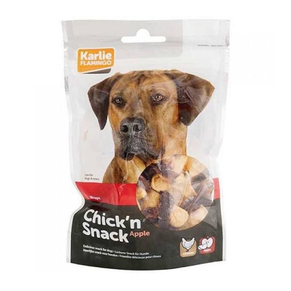 خرید                      تشویقی سگ فلامینگو مدل Chicken Snack کد 652 وزن 85 گرم
