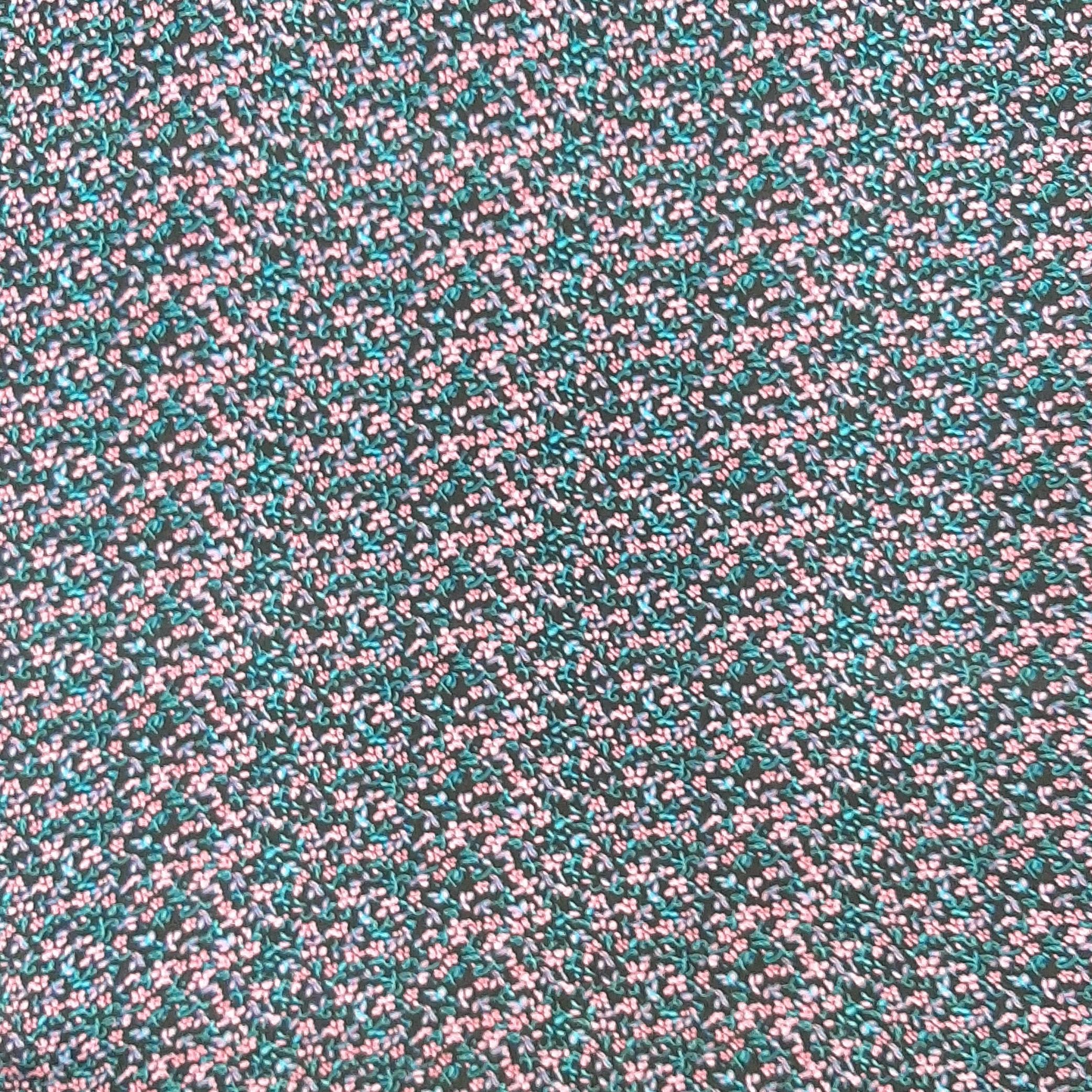خرید                      پارچه لباس طرح ریز گل کد ۷۶۶۵
