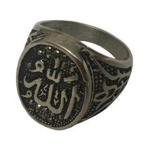 انگشتر مردانه طرح الله کد 180